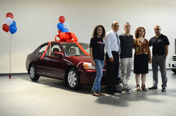 a hard-working mother receives a free car