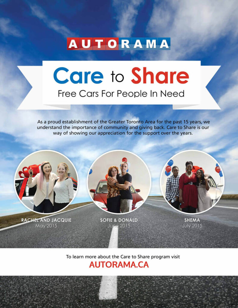 autorama care to share promotion