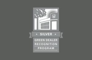 Honda Silver Green Dealer Award