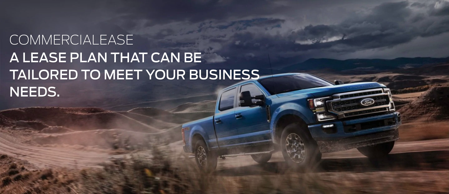 Ford Commercial Leasing Banner