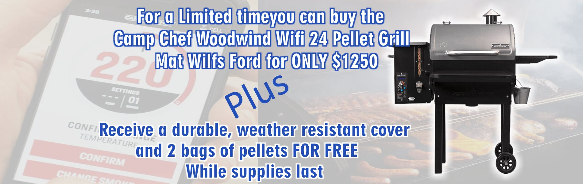 Woodwind Grill Promotion